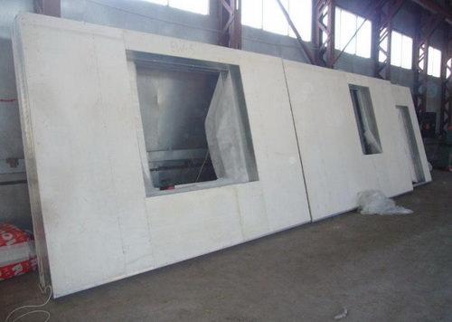 Крупнопанельные перегородки изготовляются на заводе с готовыми лицевыми поверхностями и нуждаются перед покраской...