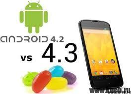 Чем отличается ОС Android 4.2 от версии 4.3