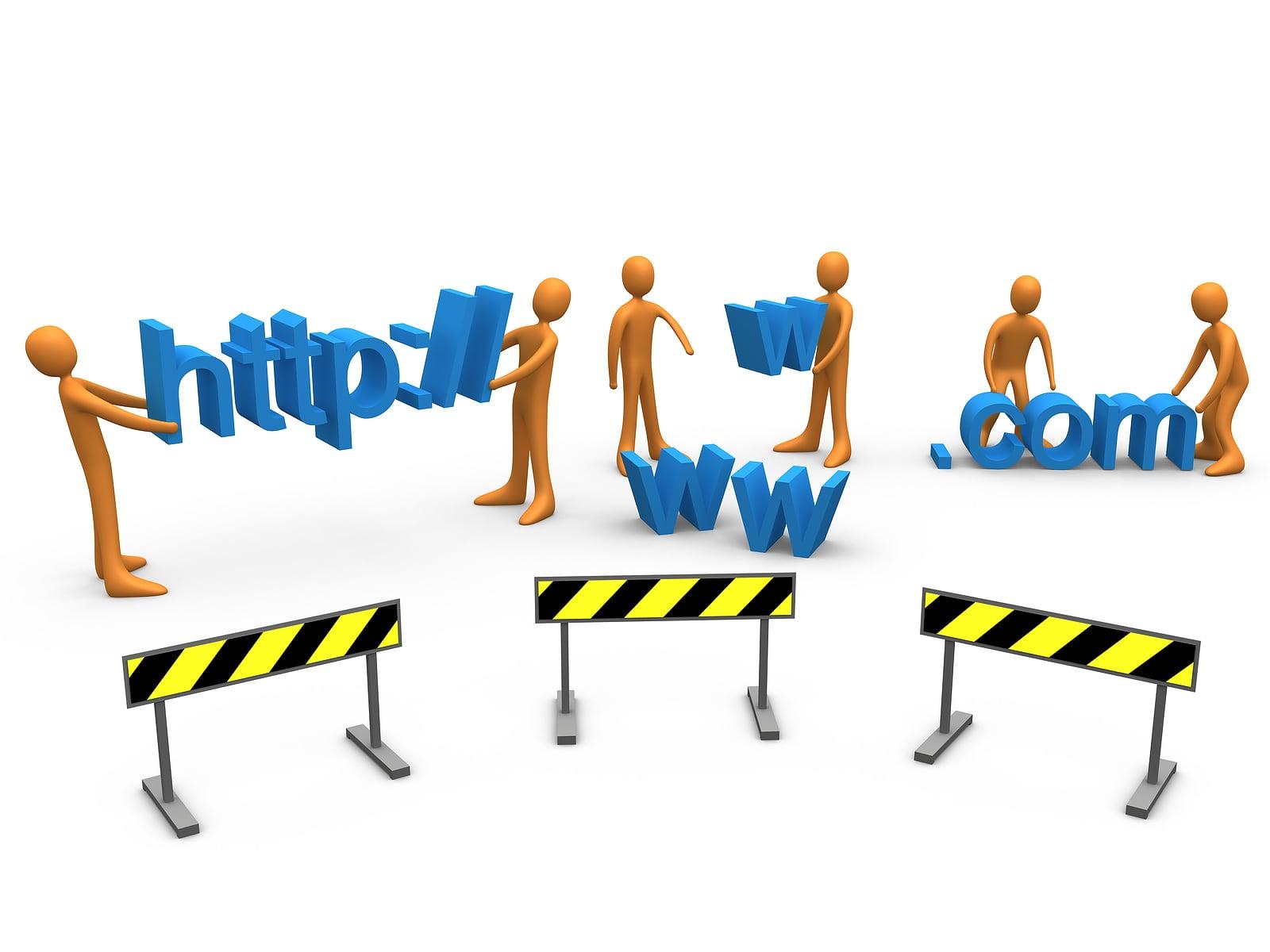 Как снять готовый сайт в аренду посредников. Готовые сайты бесплатно