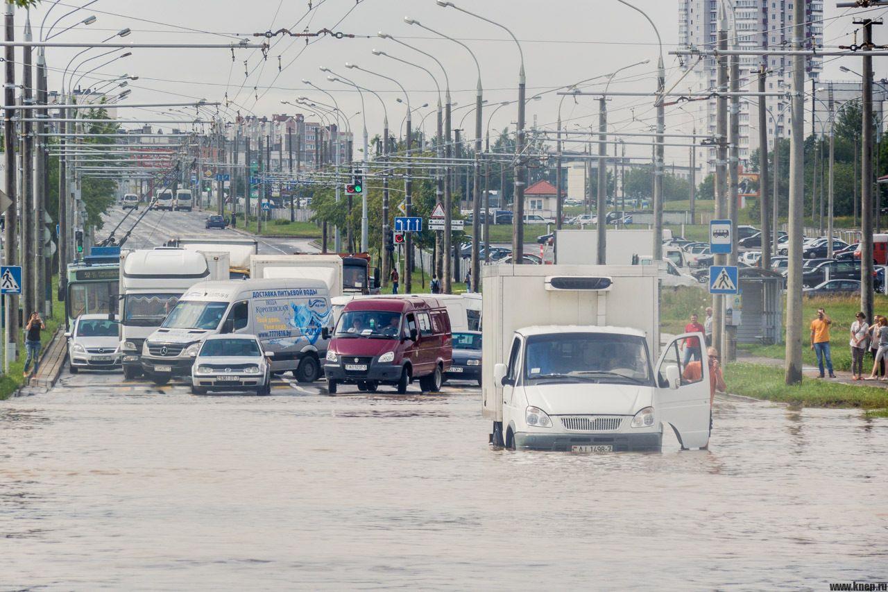 Шторм в Минске 13 июля 2016. Есть жертвы