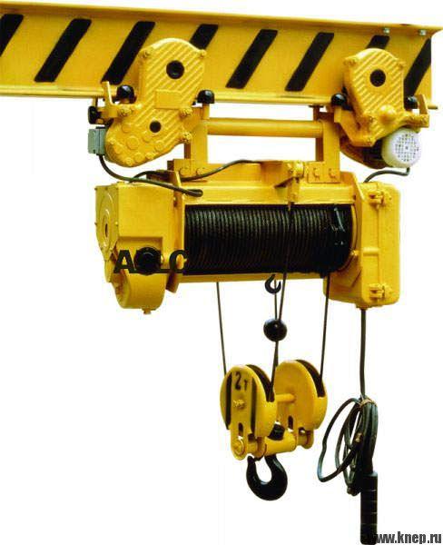 Конструкция и характеристики электрических строительных лебедок и электроталей