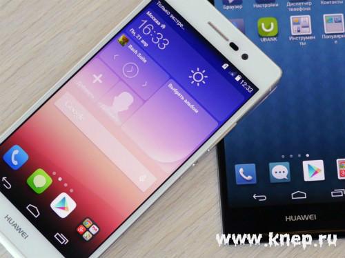 Новинка Huawei — Ascend P7
