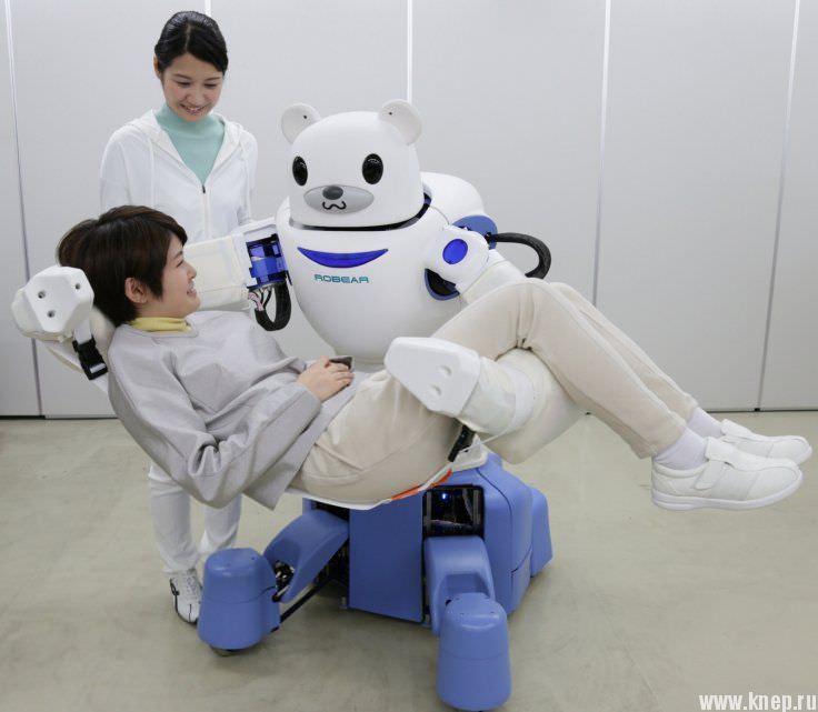 Японский робот RoBear