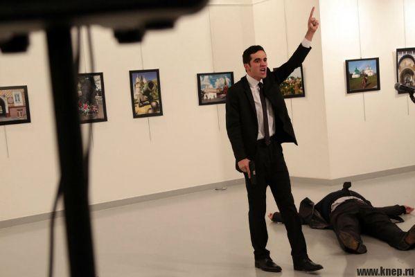 Российский посол убил в Анкаре