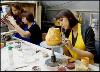 Как делают керамические изделия из глин